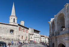 Arles Roman Arena  Provence France Royalty Free Stock Images