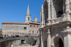 Arles Roman Arena  Provence France Royalty Free Stock Photography