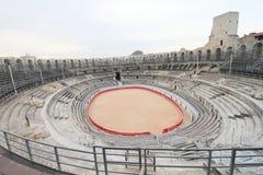 Arles Roman Theater stockbilder