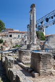 Arles Roman Theater Provence France Stock Image