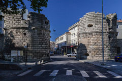 Arles Stone Walls France Royalty Free Stock Images