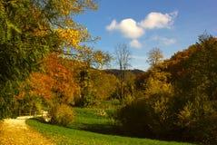 Arlesheim (Ελβετία) το φθινόπωρο Στοκ φωτογραφία με δικαίωμα ελεύθερης χρήσης