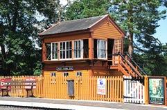 Arley signal box. Royalty Free Stock Images