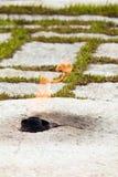 arlington αιώνια φλόγα jfk Στοκ Φωτογραφίες
