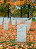 arlington εθνικές ταφόπετρες νεκροταφείων Στοκ εικόνα με δικαίωμα ελεύθερης χρήσης