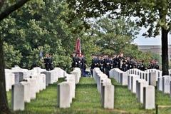 arlington κηδεία στρατού Στοκ εικόνες με δικαίωμα ελεύθερης χρήσης