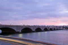 arlington μνημείο γεφυρών Στοκ φωτογραφία με δικαίωμα ελεύθερης χρήσης