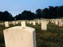 arlington νεκροταφείο εθνικό Στοκ εικόνα με δικαίωμα ελεύθερης χρήσης