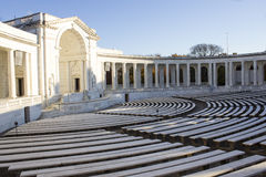 Arlington-Amphitheater Lizenzfreies Stockbild