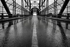 Arlington bro Winnipeg arkivbild