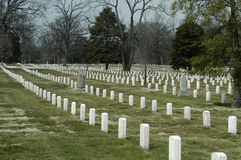Arlington cemetary Royalty Free Stock Photos