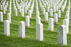 Arlington cemetery graveyard Stock Photos