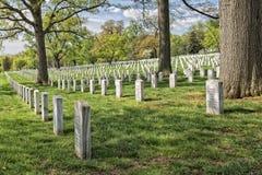 Arlington cemetery graveyard Stock Photos