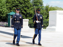 Arlington Cemetery The Honor Guard 2010 Royalty Free Stock Photo