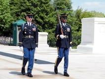 Arlington Cemetery The Honor Guard 2010 Royalty Free Stock Photo