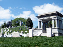 Arlington Cemetery Memorials and tombstones 2010 Royalty Free Stock Images