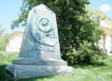 Arlington Cemetery Tomb of General Sheridan 2010 Royalty Free Stock Image