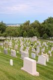 Arlington Cemetery Stock Photo
