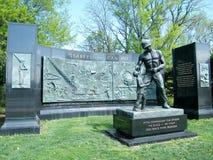 Arlington cimetière BATAILLONS DE CONSTRUCTION mémorial en avril 2010 Photos libres de droits