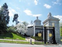 Arlington cimetière porte en avril 2010 Photographie stock