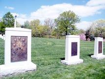 Arlington Cmentarniany pretendent i Kolumbia pomnik 2010 zdjęcia stock