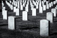 Arlington cmentarz zdjęcia royalty free