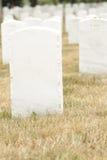 arlington cmentarza obywatel Zdjęcia Royalty Free