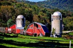 Arlington del oeste, VT: Nolan Farm Fotos de archivo