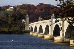 Arlington-Denkmal-Brücke Stockfotografie