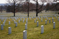 Arlington Graves 144 Stock Image