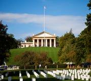 Arlington House. Historic house of Robert E Lee in Arlington National Cemetery Stock Images