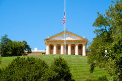 Arlington House at the Arlington National Cemetery in Virginia, Stock Photography