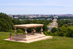 Arlington House Memorial View Washington DC Royalty Free Stock Photo