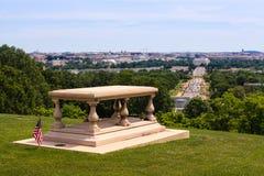 Arlington House Memorial View Washington DC royalty free stock photo