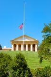 Arlington hus på Arlington den nationella kyrkogården i Virginia Royaltyfri Bild