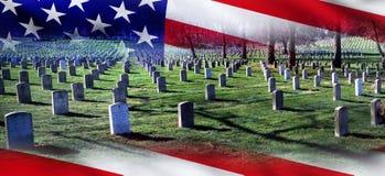 Arlington Krajowy cmentarz Zdjęcie Royalty Free