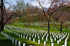 Arlington Krajowy cmentarz Obrazy Royalty Free