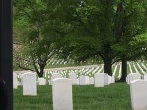 Arlington Krajowy cmentarz Zdjęcia Royalty Free