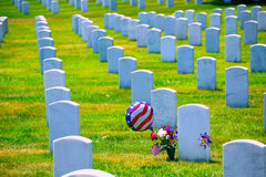 Arlington Krajowy cmentarz VA blisko washington dc Zdjęcia Royalty Free