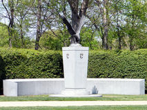 Arlington kyrkogård den 101. luftburna minnesmärken 2010 Arkivbild