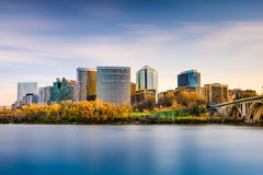 Arlington linia horyzontu Zdjęcia Royalty Free