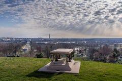 Arlington medborgarekyrkogård arkivbild