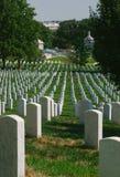 Arlington medborgarekyrkogård Royaltyfria Foton
