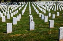 Arlington medborgarekyrkogård Royaltyfri Fotografi