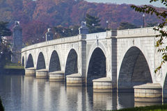 Arlington Memorial Bridge Royalty Free Stock Photography