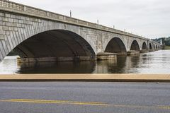 Arlington Memorial Bridge In Washington royalty free stock photos