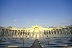 Arlington Memorial Theater at Sunset, Washington, D.C. Royalty Free Stock Images