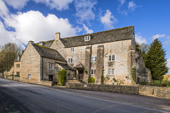Arlington Mill, Bibury, England. Arlington Mill is in Bibury, a popular village for tourists in the Cotswolds and the site of the mill has a rich history going Stock Photography