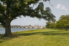 Arlington minnes- bro, Washington DC Royaltyfri Foto