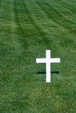 Arlington National Cemetery. White Cross at the Arlington National Cemetery Stock Photos